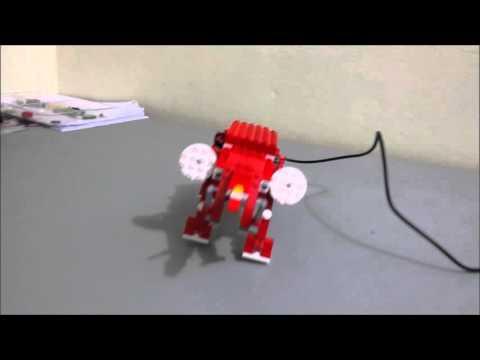 Robot Elefante. Lego WeDo