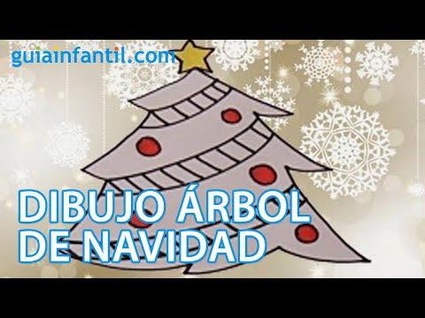 Dibujos navide os para ni os rbol de navidad youtube - Dibujos de pared para ninos ...