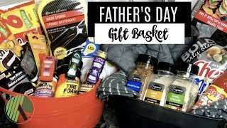 DOLLAR TREE DIY | FATHER'S DAY GIFT BASKET | 2 EASY IDEAS