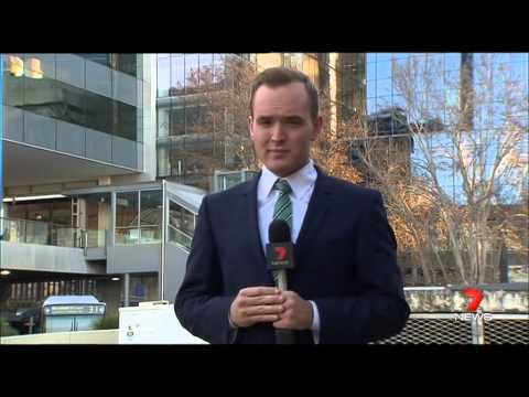Bus Fire   Seven News Perth   14/07/2015