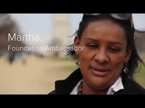 Foundation Ambassador Martha Cameron