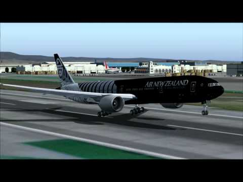 777-300ER AIR NEW ZEALAND AUCKLAND - LOS ANGELES