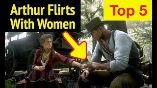 Arthur's Lady Conversations in Red Dead Redemption 2 (RDR2): Chat with Karen, Mary-Beth and Lillian