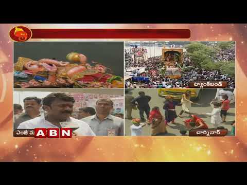 TRS Leader Talasani Srinivas Yadav Face To Face Over Ganesh Immersion Celebrations