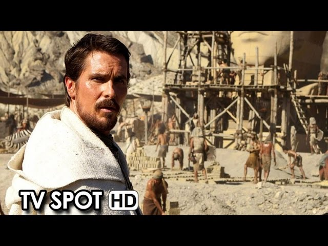Exodus: Gods and Kings TV Commercial 'Two Brothers' (2014) - Christian Bale HD