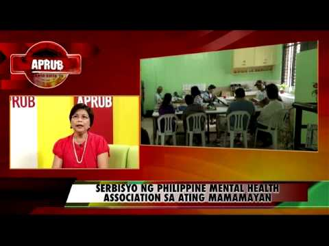 APRUB - PHILIPPINE MENTAL HEALTH ASSOCIATION ( Nov.1, 2012) Part 2 of 3