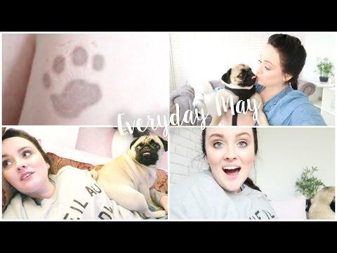 PAW PRINT TATTOO & FILMING - EVERYDAY MAY!   Becca Rose