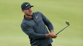 Watch: Brooks Koepka's full first round at The Open