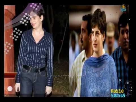 Hello Ladies - Priyanka Gandhi Dressing Style   Vanitha TV