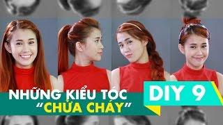 DIY 9 | Những kiểu tóc chữa cháy | Lady9 | Hairstyles