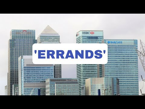 'Errand' Meaning - English Lesson