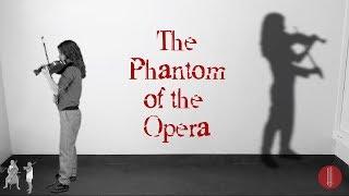 Phantom Of The Opera Theme Song Ouverture Violin Cello By Maria Florencia