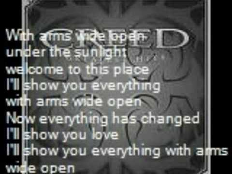 Creed - CREED-With Arms Wide Open [HD] [LYRICS]