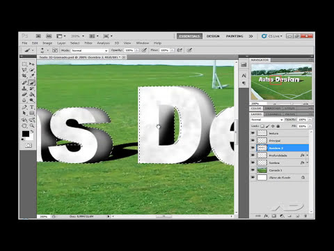 Texto 3D Super Realista - Photoshop CS5