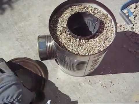 Build A Rocket Stove. Step-By-Step