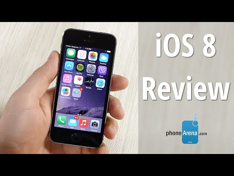 iOS 8 Review: focused on what matters