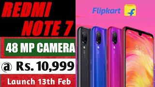Redmi Note 7 Price & Launch date in India   Official first look & Review ofcamera & specification.