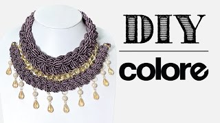 DIY Collar Trenzado Doble | Colore Accesorios