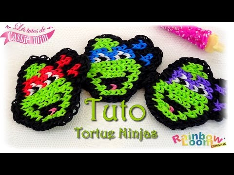 Tortue ninja elastique videolike for Mural en elastique