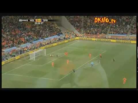 Gol Iniesta - Final Mundial 2010 - Holanda vs España - Narrado por radios y televisiones
