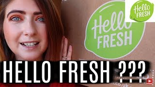 Hello Fresh unboxing February 2019