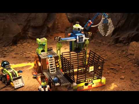 LEGO Power Miners - Claw Catcher  8190  to LavaTraz  8191