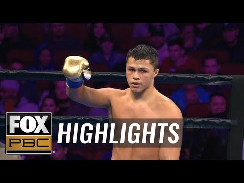 18 year-old prospect Joey Spencer gets KO win on FS1 | HIGHLIGHTS | PBC ON FOX