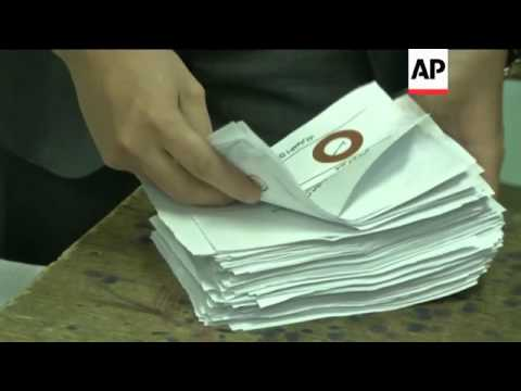 Polls close and counting begins after referendum over contentious charter