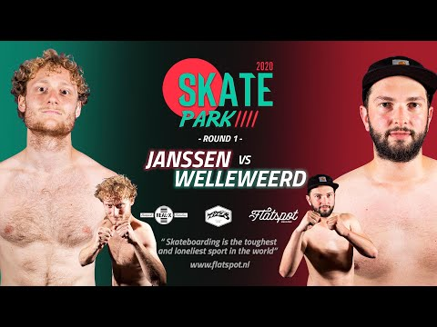 Game of SKATEpark 4 -  Game #5 -  Janssen vs Welleweerd