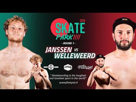 Game of SKATEpark 4 -  Game #5 -  Janssen vs Welleweerd