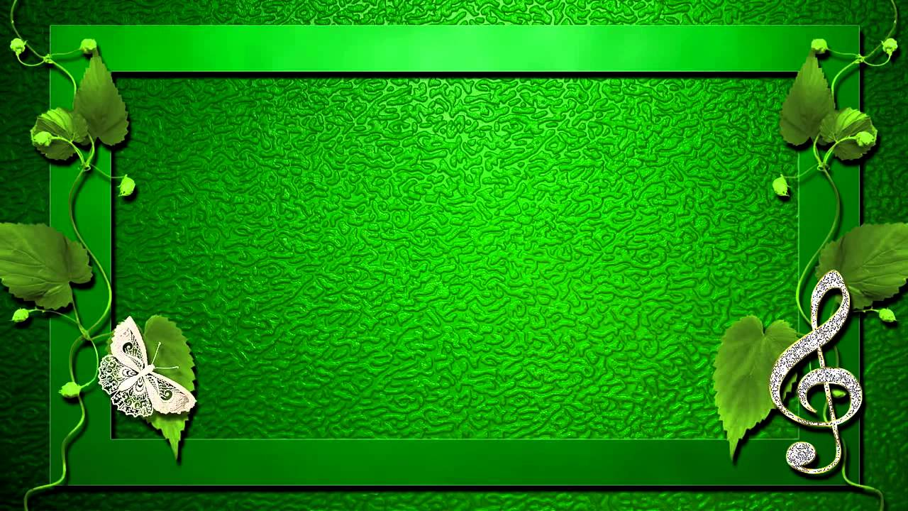 Поздравления на зеленом фоне 932