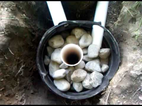 French Drain And Dry Well 3gp Youtube