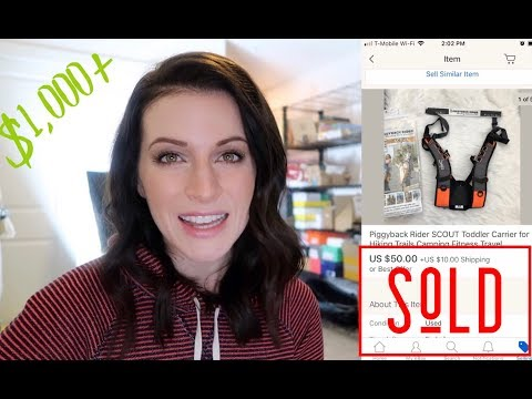 1,000 in Sales! What Sold on eBay? 18 Items that Sell On Ebay for a Great Profit!