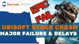 Ubisoft FAILURE, Stock CRASHES & Delays Games! Gamers Win!