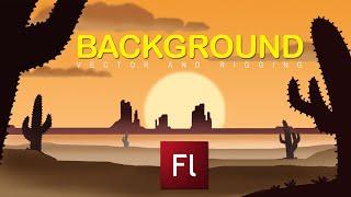 Flash Animation Tutorial-Background Creation