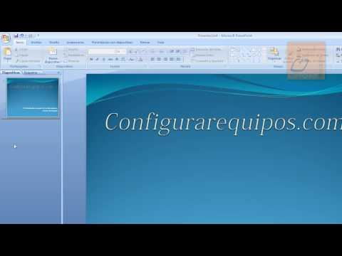 Cómo hacer presentaciones PowerPoint