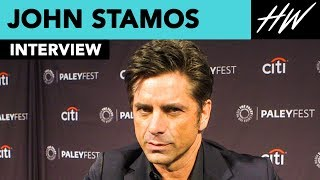 John Stamos Is Fascinated By Penn Badgley | Hollywire