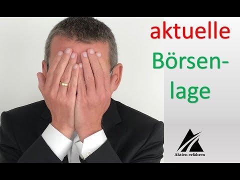 aktuelle Börsenlage - Leben von Dividenden - www.aktienerfahren.de