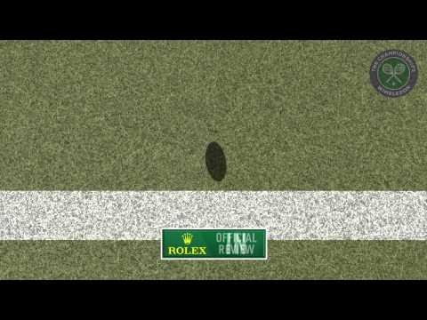 2015 Day 7 Highlights, Roberto Bautista Agut vs Roger Federer