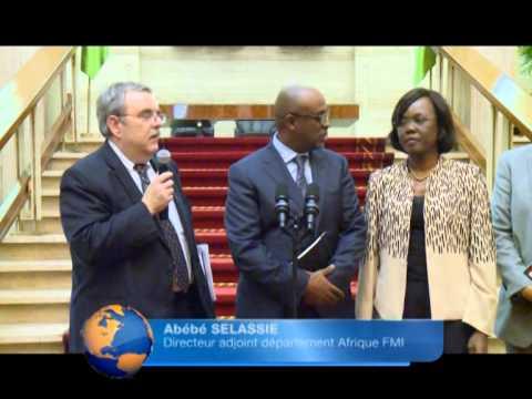 Présidence / Audience : Alassane Ouattara reçoit Le Directeur Adjoint du département Afrique FMI