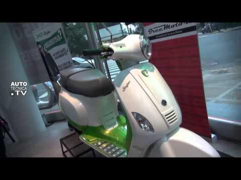 Primera Moto Eléctrica Argentina. Zanella E-Styler www.autotecnica.tv