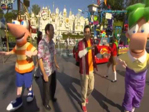 Phineas & Ferb Dance Party - Disneyland Resort Holidays 2011