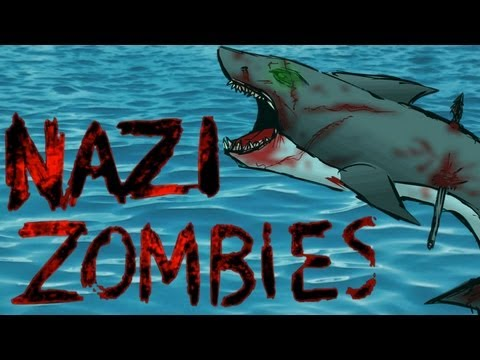 COD WaW Custom Zombies Map: Aquarium