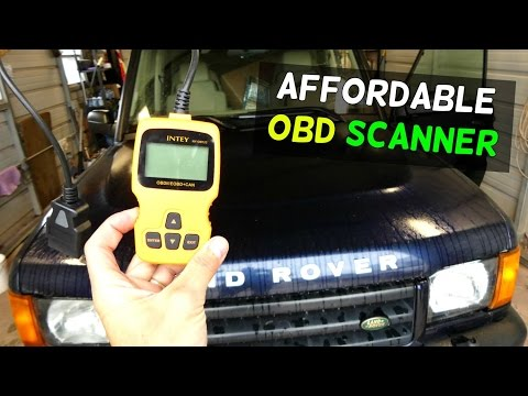 Product Review: INTEY OBD2 Scanner Car Code Reader Vehicle Auto Diagnostic Scan Tool OBD II