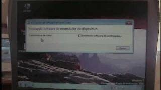 Dell C400 Video Instalacion Win7 parte 2