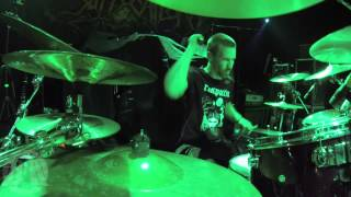 SUFFOCATION@Catatonia-Kevin Talley-Live in Poland-Warsaw 2015 (Drum Cam)
