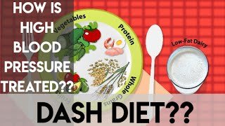 Dash diet? How to treat high blood pressure with diet