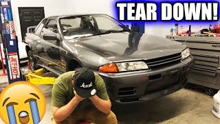 TEARING MY GTR APART...
