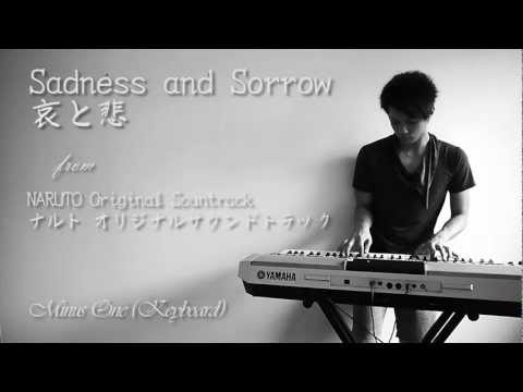 (minus One - Keyboard) Sadness And Sorrow From Naruto Original Soundtrack video