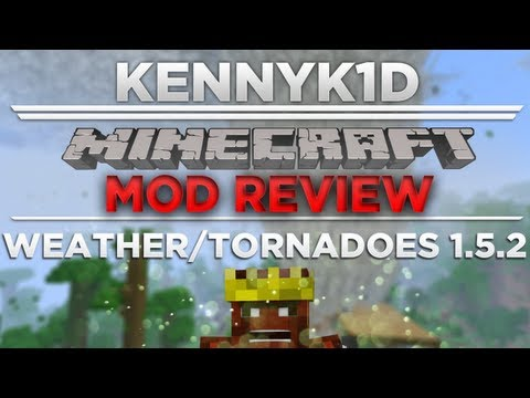 Minecraft - Mod Review+Installation Weather/Tornadoes Mod [1.5.2]
